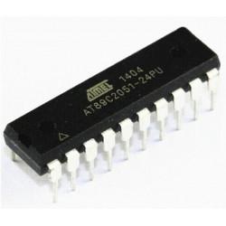 ATMEL  AT89C2051-24PU  Microcontrôleur 8 bits